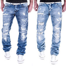 Jeans Redbridge RBC by Cipo Baxx Herren Hose Verwaschen Destroyed Clubwear Chino