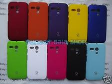 Premium Hard Back Shell Cover Case Guard For Motorola Moto G  - XT1032 - CAP