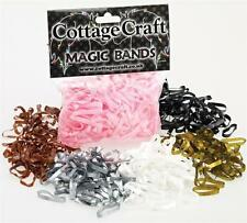 Cottage Craft Magic Silicone Plaiting Bands Pack  of 500
