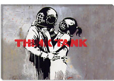 Banksy Blur Think Tank Album Cover Canvas Print Picture Wall Art - 10 SIZES!