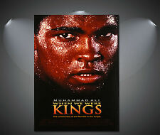 muhammad ali when we were kings Vintage Movie Poster - A1, A2, A3, A4 available