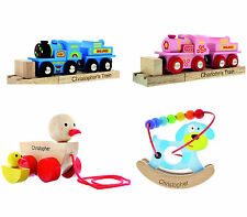 Personalised Childrens Wooden Toys. Discounts Available....