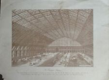 Rare Plates Lithographs From The Engineering Magazine Over 120 Years Old Vintage