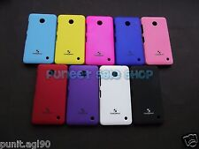 Premium Matte Hard Back Shell Cover Case Pouch Guard For Nokia Lumia 630 - C&M