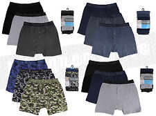 Mens 3 Pack Boxer Shorts Trunks Cotton Rich Underwear Camouflage Briefs S - XL