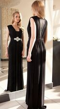 Formal Party Evening Prom Bridesmaid Wedding Maxi Dress Size 8 10 12 14 16 18