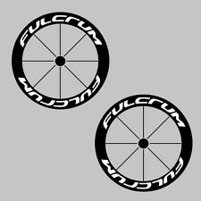 Fulcrum Carbon Bike/Cycling/Cycle/Push Bike Wheel Decal Sticker Kit