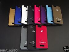 Dual Tone Soft Side Rubber Hard Back Cover Case Fr Micromax Canvas 2 Colors A120