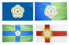 Yorkshire Rose Flag 5x3ft Choose East North West Riding of York Flags 150x90cm '