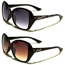 NEW DESIGNER SUNGLASSES LADIES WOMENS GIRLS BLACK VINTAGE RETRO WRAP LARGE UV400