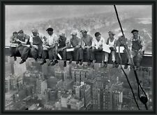 Lunch On A Skyscraper Men On Girder Poster New York City Maxi or A2 SIZE