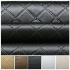 BENTLEY DIAMOND STITCH EMBOSSED EFFECT CAMPER BOAT UPHOLSTERY CAR FAUX LEATHER
