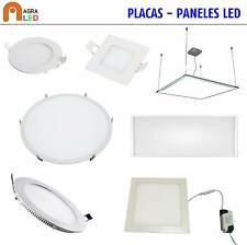 PLACA - PANEL - DOWNLIGHT LED _ 3W-6W-12W-18W-25W-36W-48W-72W    (AGRALED)