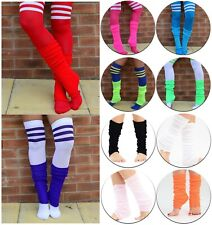 Women's & Girls Ballet Dance Fashion Leg Warmers Bright Colours 1 2 or 3 Pairs