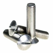 M6 ( 6mm ) A2 Stainless Steel Raised Slotted Countersunk Machine Screws DIN 964