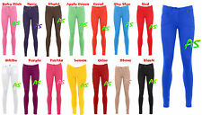 A89 WOMENS LADIES COLOURED SKINNY FIT STRETCH JEANS JEGGING TROUSERS PLUS SIZE