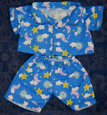 Teddy Bear FLANNEL PJs CLOTHES Fit 14