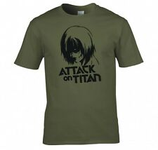 "ATTACK ON TITAN, ANIME ""ANNIE LEONHART""  T SHIRT NEW"