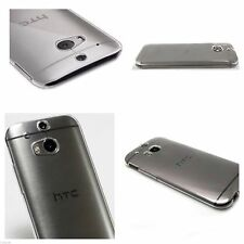 Crystal Clear Transparent Slim Soft Gel Back Case for htc one M7  | htc one M8