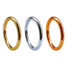 2mm 18ct Gold Round Halo Wedding Rings Yellow White Rose Solid UK HM Heavy Bands