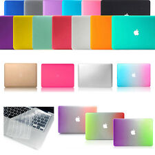 """Rubberized Matte Hard Case+Keyboard Cover For MacBook Air 11"""" Pro 13"""" Retina 15"""""""