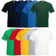 10 x  FRUIT OF THE LOOM T-SHIRT HERREN T-SHIRTS GR. S M L XL XXL 3XL 4XL 5XL NEU