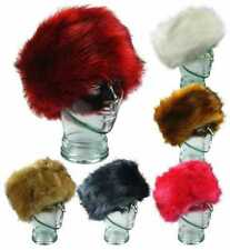 Ladies Faux Fur Headbands with Ear Warmers winter fashion item in 6 colours