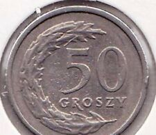 Poland 50 Fifty Groszy Polish Coins Polanski
