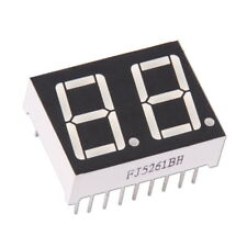 "2-stellige 0.56"" Anzeige Anode Rot 7-Segment Sieben Common LED Display Arduino"