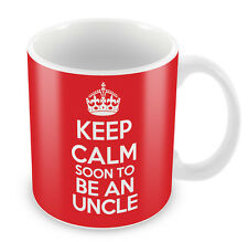 KEEP CALM Soon to Be an Uncle - Coffee Cup Gift Idea present