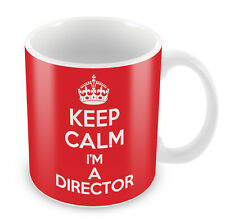 KEEP CALM I'm a Director - Coffee Cup Gift Idea present movies film tv