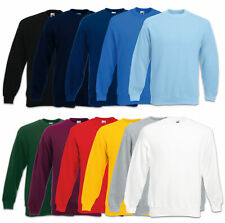 Fruit of the Loom Sweatshirt Set-In Sweat Herren Pullover Gr. S M L XL XXL 3XL