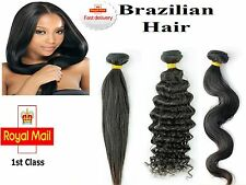 Brazilian Virgin Remy Human Hair Extensions Weft Real Human Hair