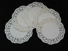 """50 paper Doilies - Round -size from 4.5"""", 5.5"""", 6.5"""", 8.5"""", 9.5"""" - Free Post!"""