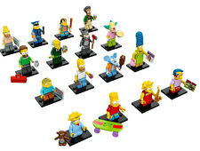 Lego Simpsons 2 + Simpsons 1 Mini figures choose your figure new 71005 71009