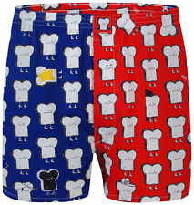 "Lousy Livin (Cleptomanicx) Boxershorts ""Multicolor Toast"" Grenadine"