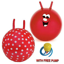 LARGE CHILDREN KID SPACE HOPPER JUMP BOUNCE FUN BALL OUTDOOR TOY WITH FREE PUMP