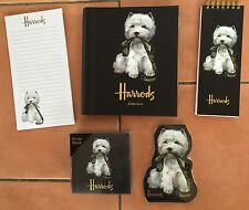 Harrods Westie Diary 2017-jotter-memo Stationery gifts for westie fans BNWT