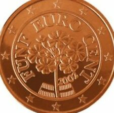 Austria 5 Euro Cent Five Cent Austrian Choose Your Dates 2002 - 2013