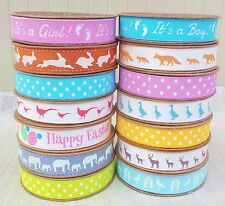 100% Cotton Polka Dot Fabric Ribbon Vintage Tape Trim Lace Gift Easter Children