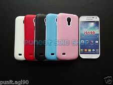 Hybrid Dual Tone Platina Soft Back Cover Case for Samsung S4 Mini i9190 i9192