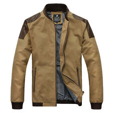 Modo Vivendi | Men's Jacket Leather Patchwork on Shoulder