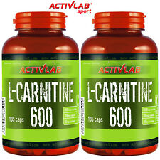 L-CARNITINE CAPSULES - Turns Fat Into Energy - Fat Burner - Weight Loss Pills