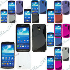 Lot REVENDEUR Etui Coque Housse Silicone Gel Samsung Galaxy S4 Active I9295 I537