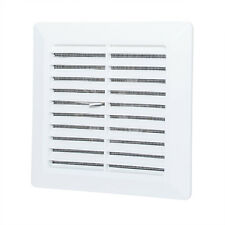 """Ducting Ventilation Cover 4"""" / 100mm Fly Screen Hand Shutter Air Vent Grille P47"""