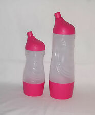 TUPPERWARE DRINK / BEVERAGE CONTAINER - Sports Bottle Pink