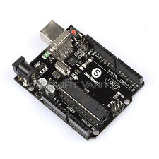 ATMEGA16U2 Version Uno R3 MEGA328P Board mit USB Kabel kompatibel for Arduino DE