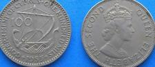 Cyprus 100 One Hundred Mils Greek Cypriot Coins