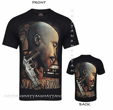 New 2 PAC TWO PAC TU PAC T-SHIRT BOTH SIDE PRINT 100% COTTON