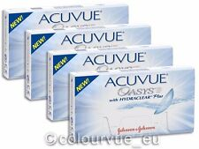 Acuvue OASYS Hydraclear PLUS 4×6 Stück - Non-Stop-Linsen 2-Wochenlinsen